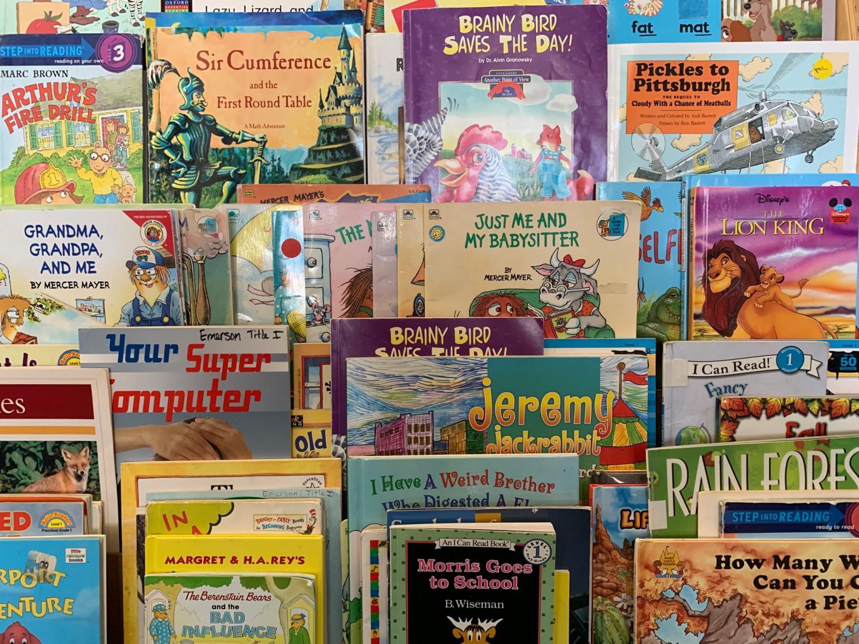 books at a Mesa public school