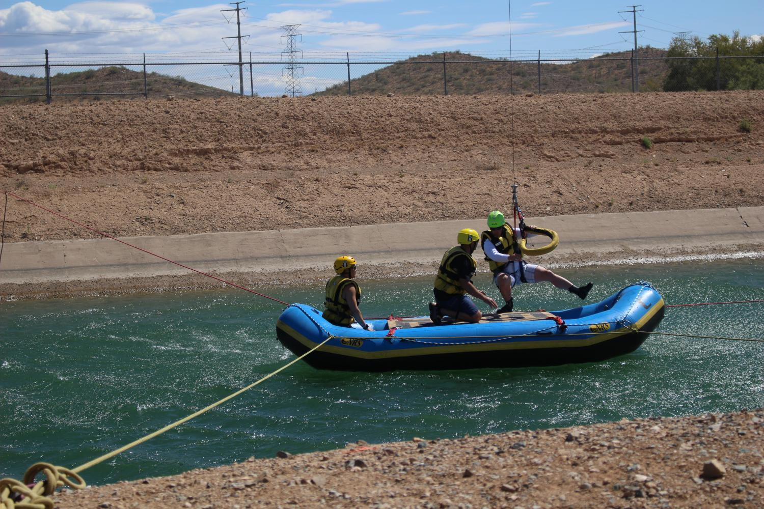 monsoon rescue training