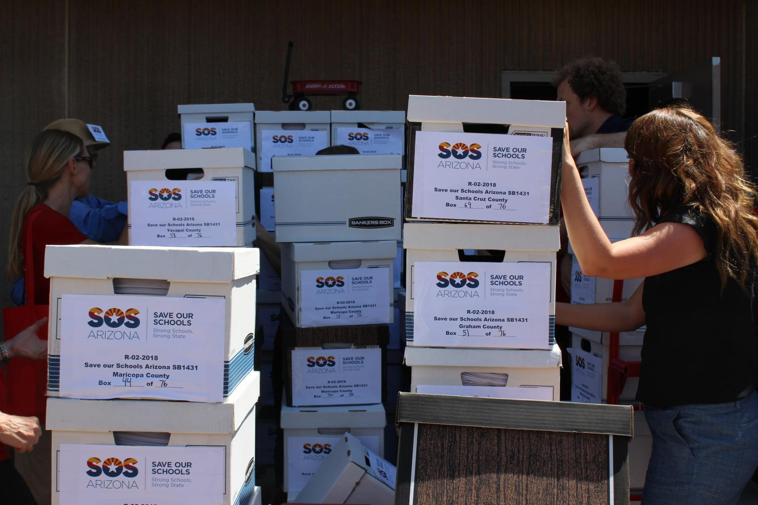 Save Our Schools Arizona collected more than 111,000 signatures
