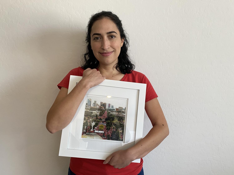 Phoenix teacher Elise Villescaz