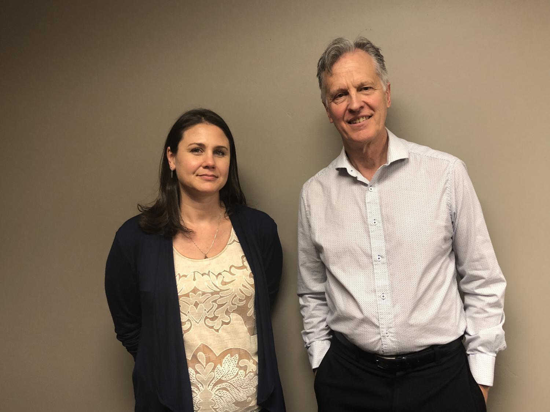 Kathy Brody and Mikkel Jordahl