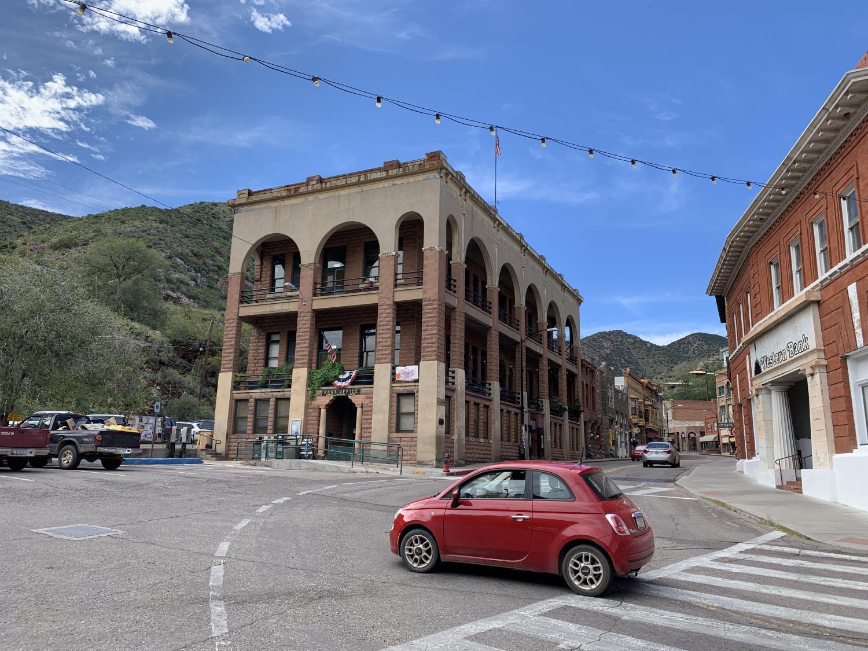 Copper Queen Library in Bisbee, Arizona