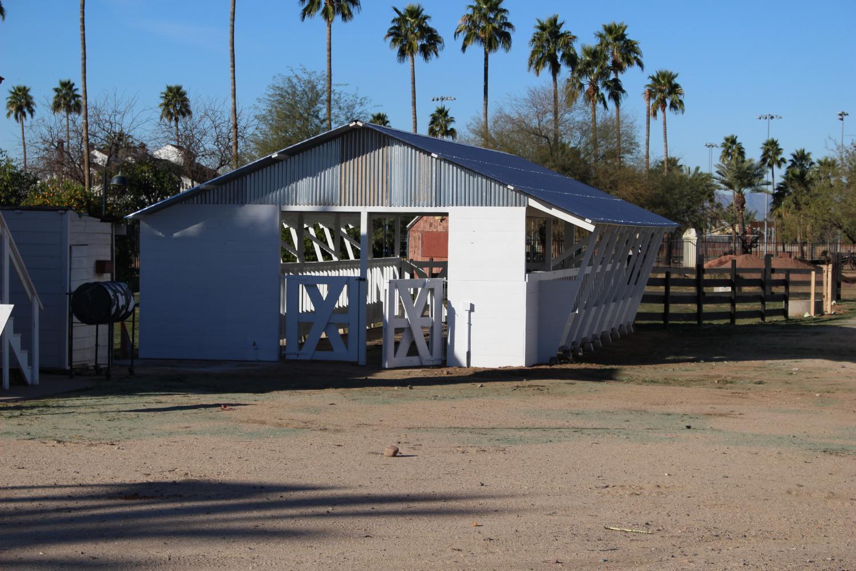 The dairy barn at Sahuaro Ranch Park in Glendale.