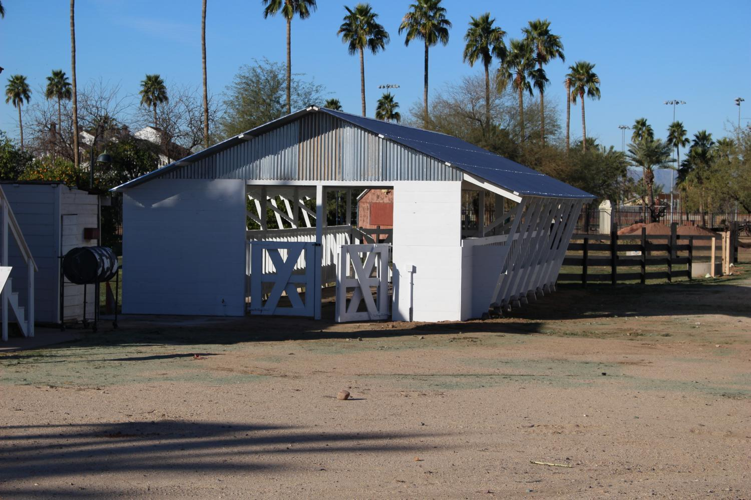The dairy barn at Sahuaro Ranch Park in Glendale.