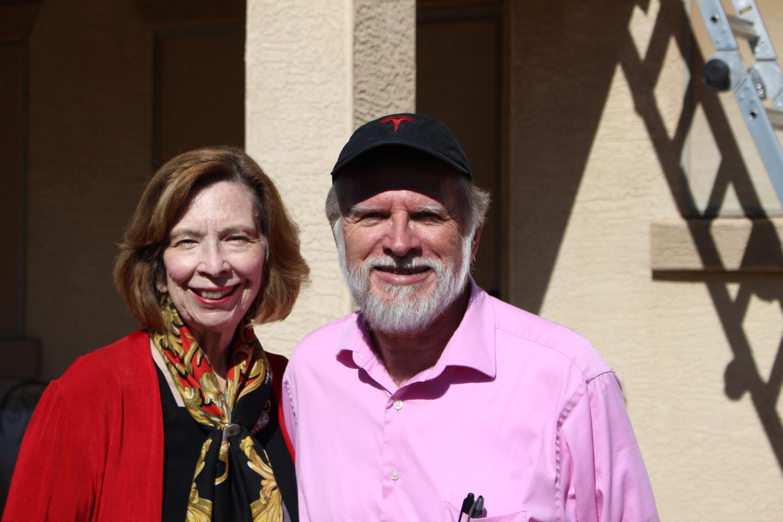 Barbara and Peter Lafford