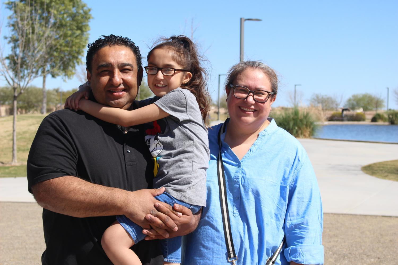 The Zaldana family.