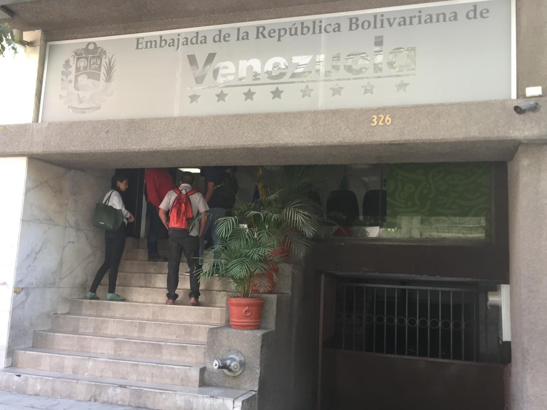 Venezuelan embassy in Mexico