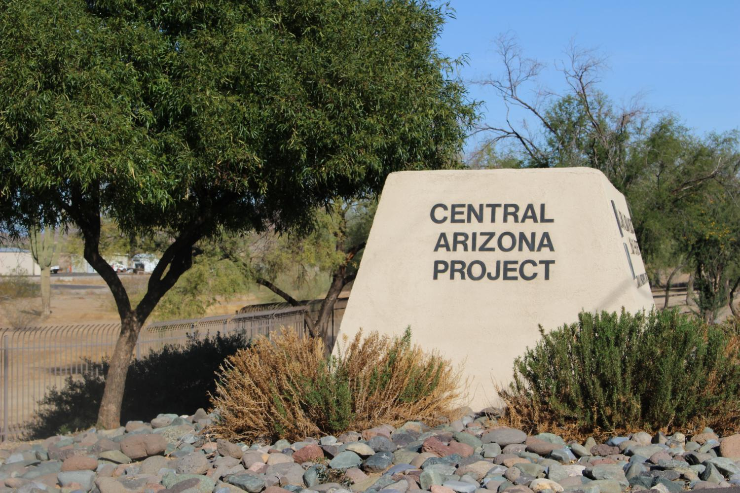 Central Arizona Project sign