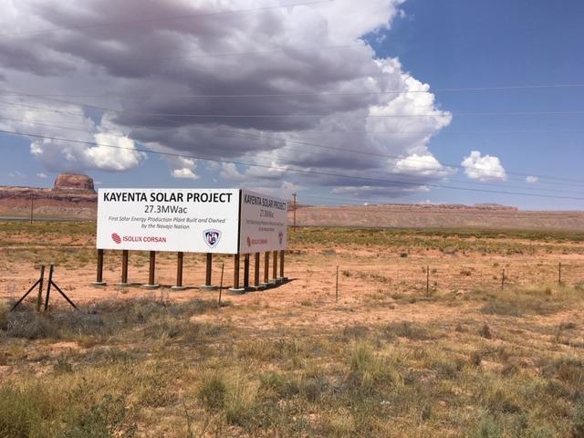 solar farms near Kayenta