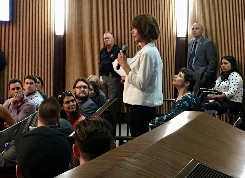 woman tells council how medical marijuana has helped daughter