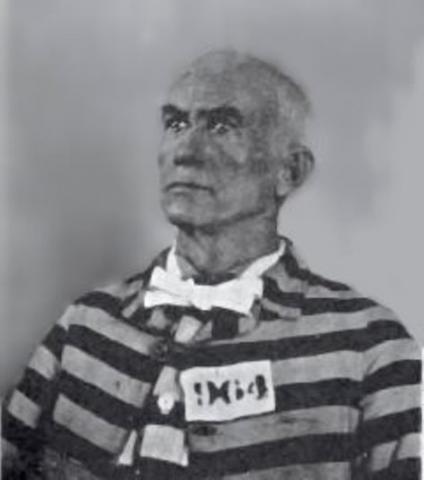 James Reavis in prison