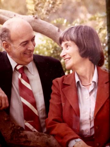 Jon Marshall and his wife, Maxine