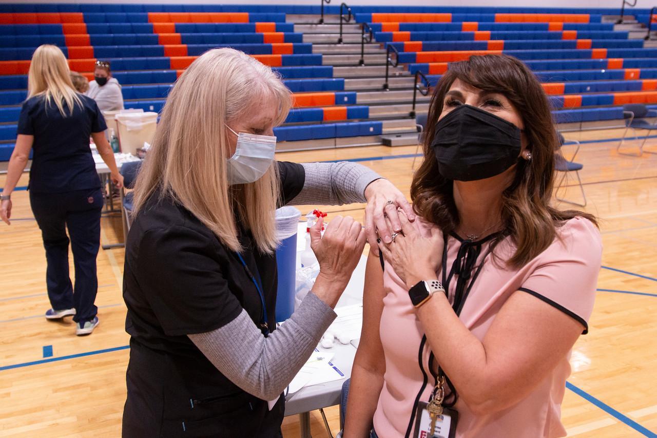 Mesa Public Schools vaccine event