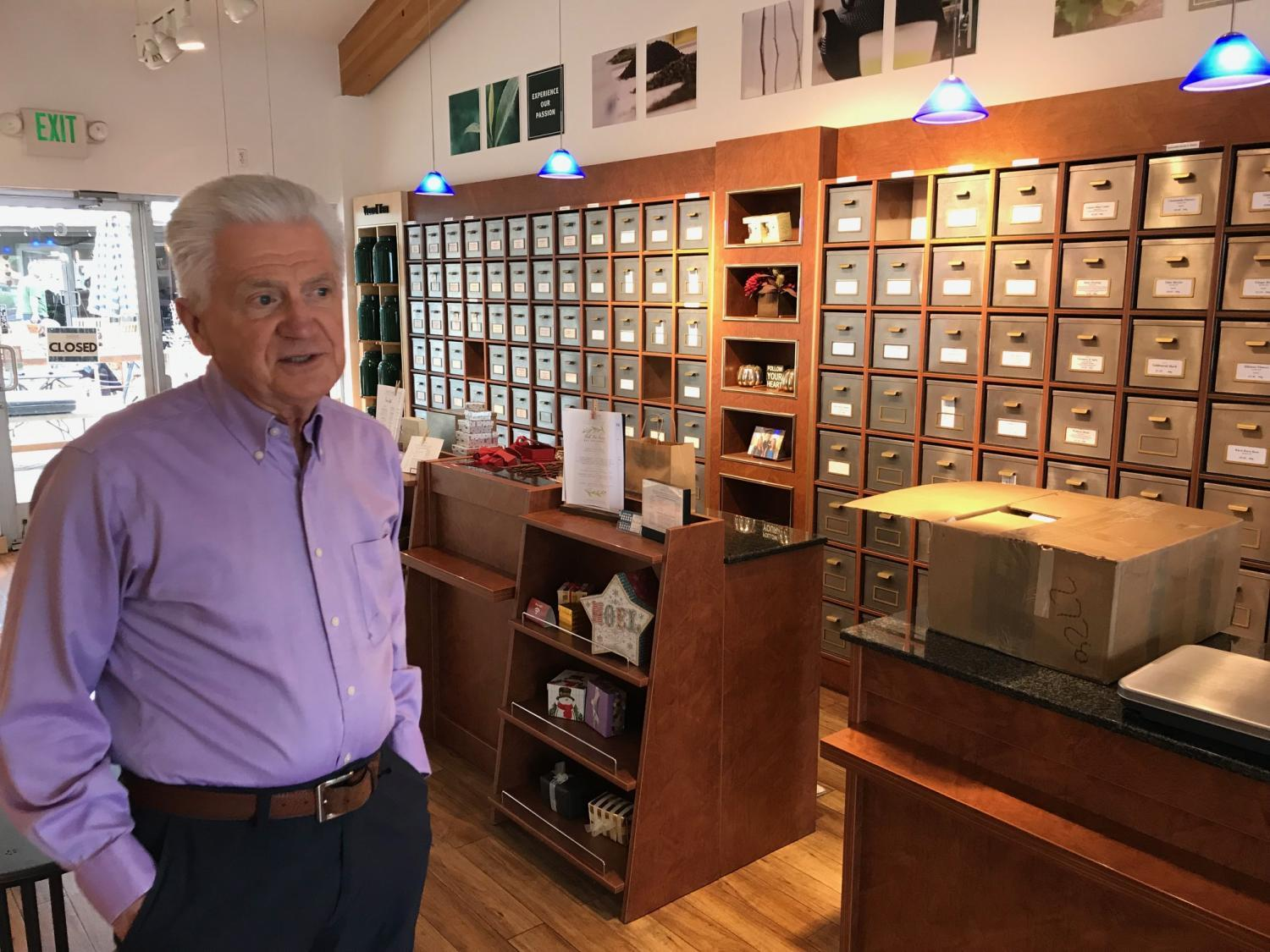 Scottsdale business and property owner Dewey Schade