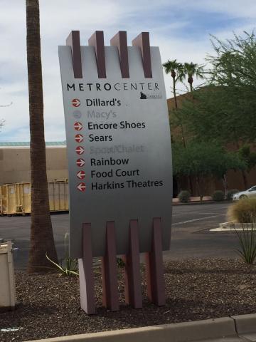 Metrocenter sign