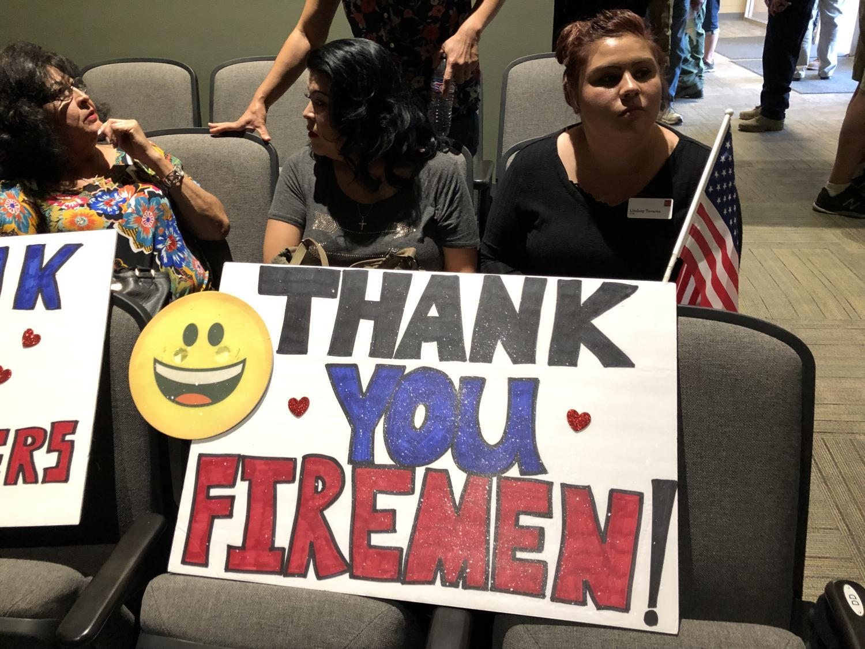Miami High School Woodbury Fire Meeting
