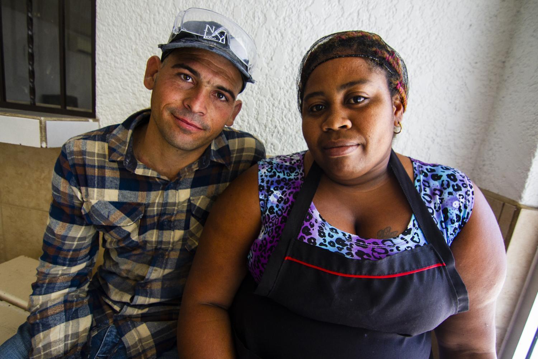Carlos Gutierrez and Alisday Palma