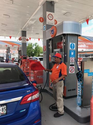 Gas station attendant Miguel Angel Ramirez