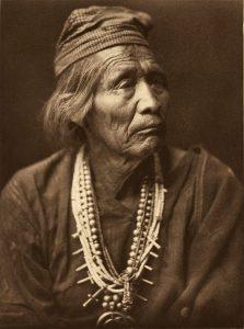 Nesjaja Hatali, a Navajo medicine man, circa 1904