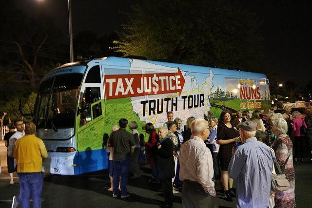 Nuns on the Bus visiting Tucson, Arizona