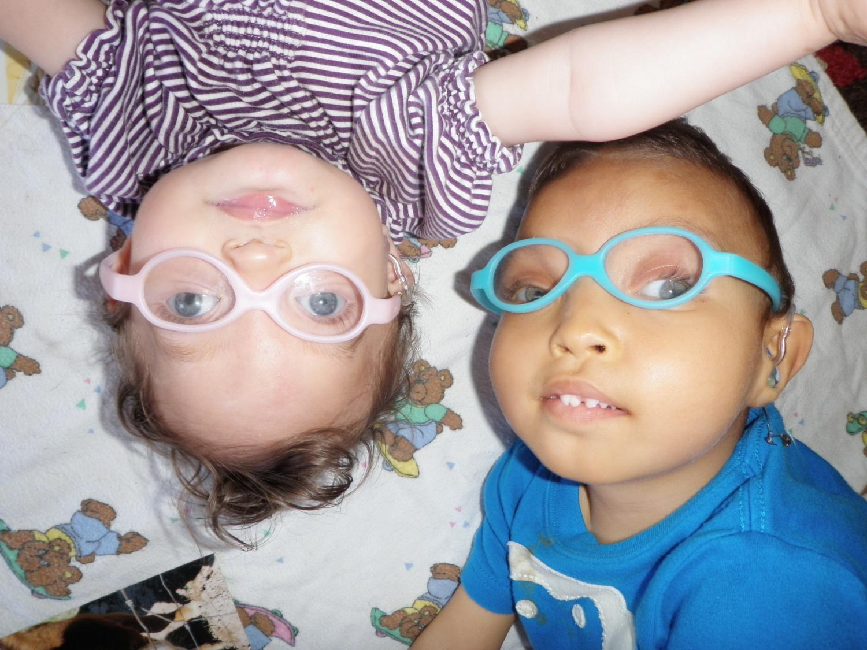 A younger Camila and Soliz Magdelano