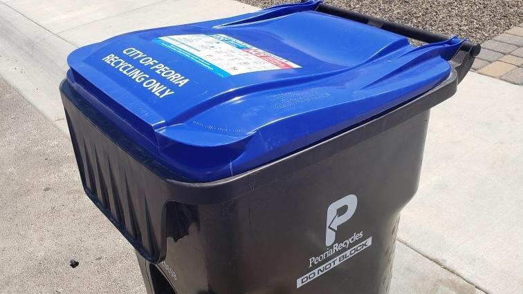 peoria recycling bin