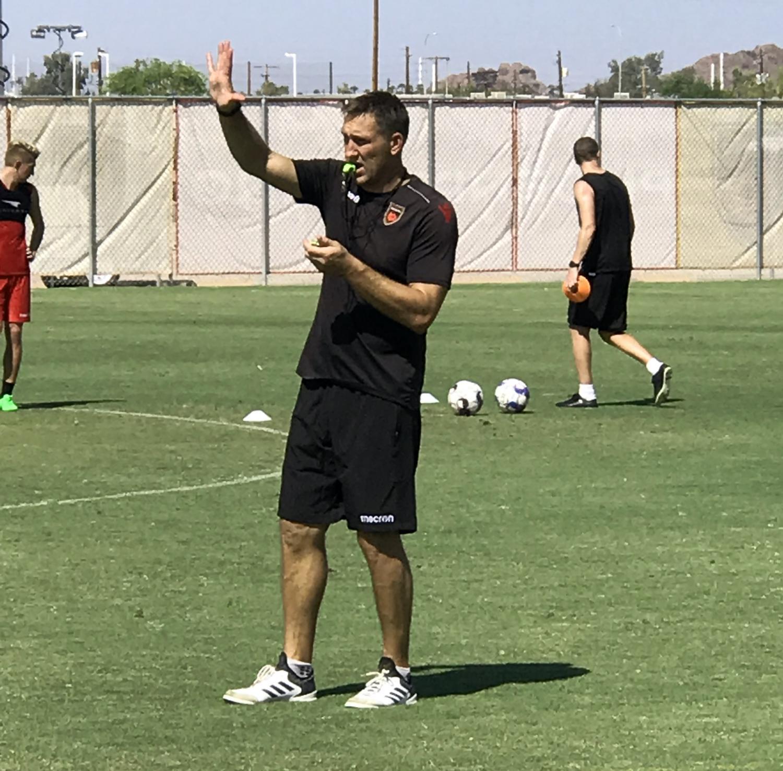 Phoenix Rising Head Coach Rick Schantz