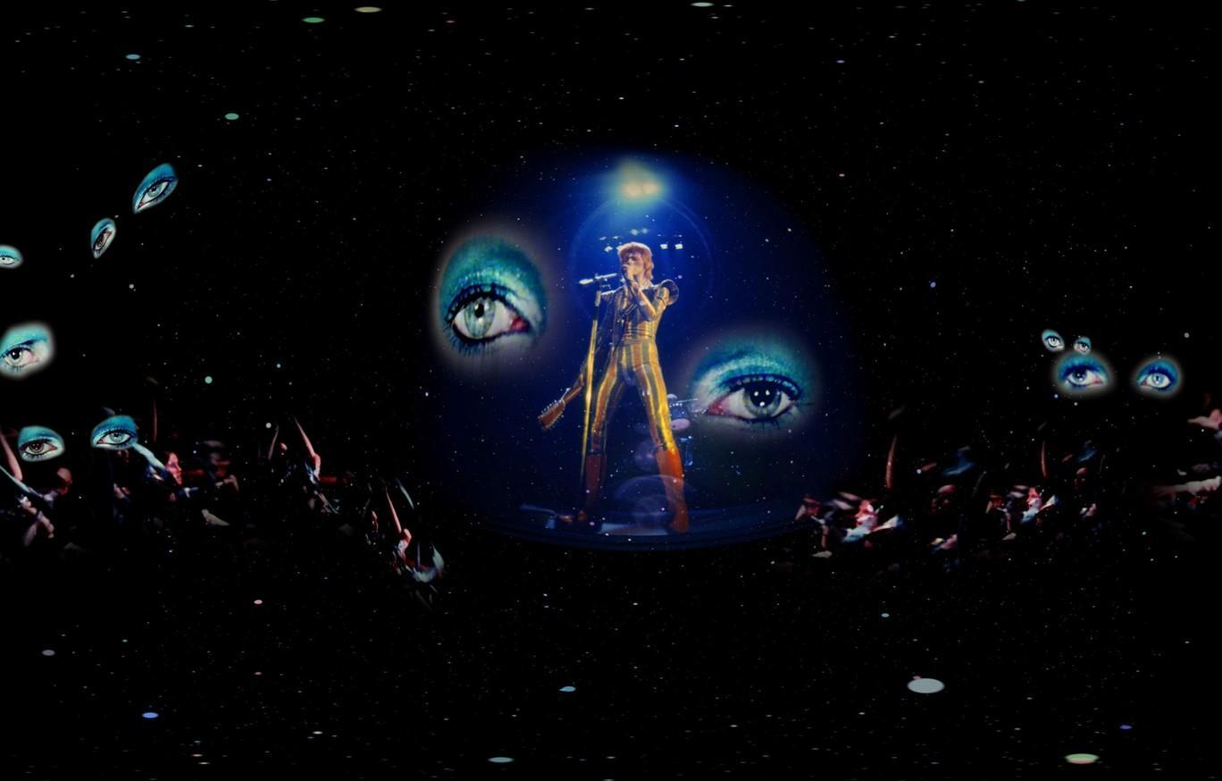 Travis Hutchison, David Bowie's Ziggy Stardust with Mick Rock, 2017.