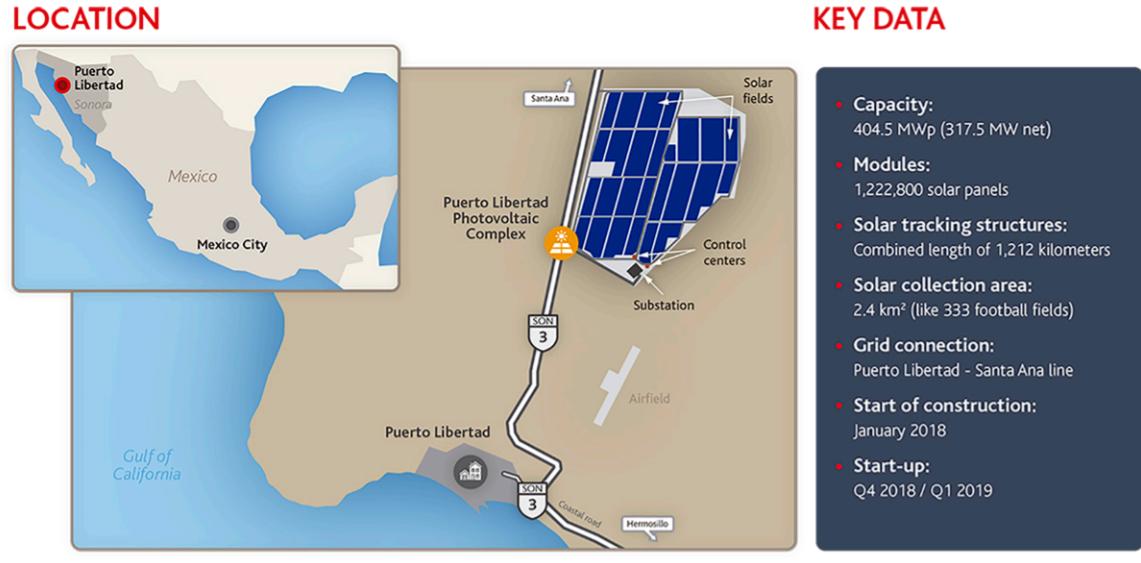 Puerto Libertad solar