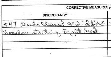 Arizona Department of Corrections record