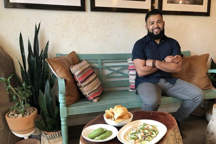 Chef Rene Andrade at Ghost Ranch in Tempe