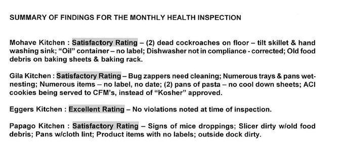 Arizona Department of Correction record