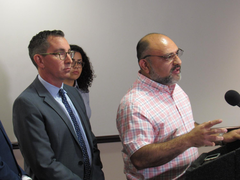 SPLC press conference