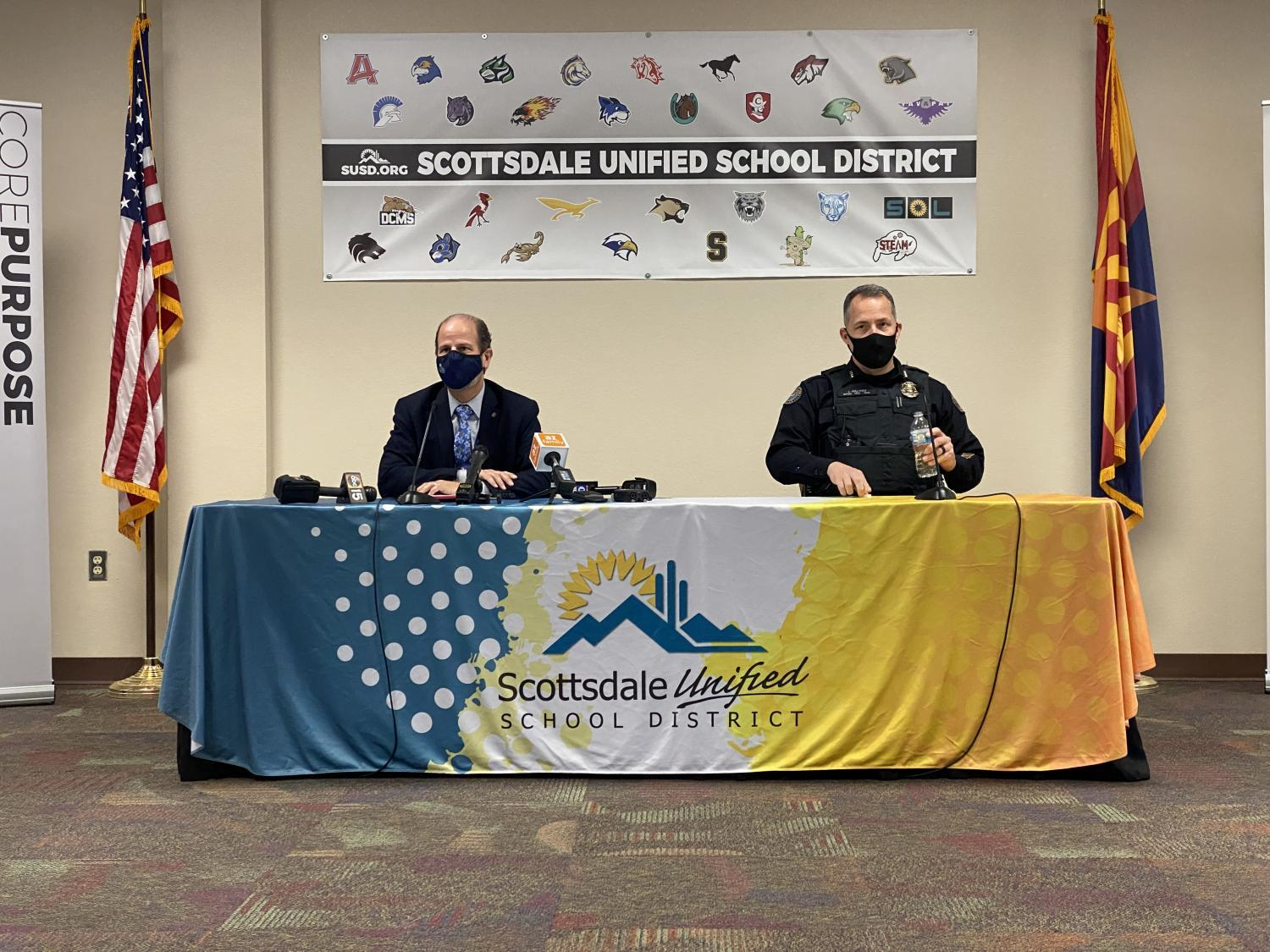 Scottsdale Unified School District press conference