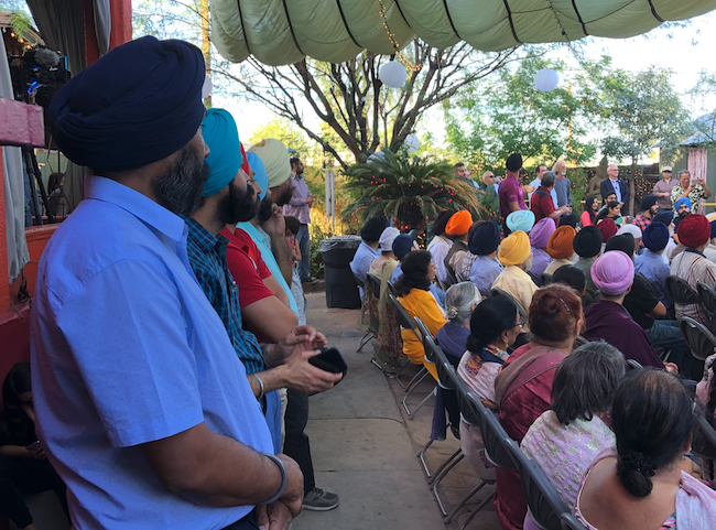 Members of the Phoenix Sikh community donated 550 trees to the City of Phoenix in honor of the 550th anniversary of the birth of the founder of their religion, Guru Nanak.