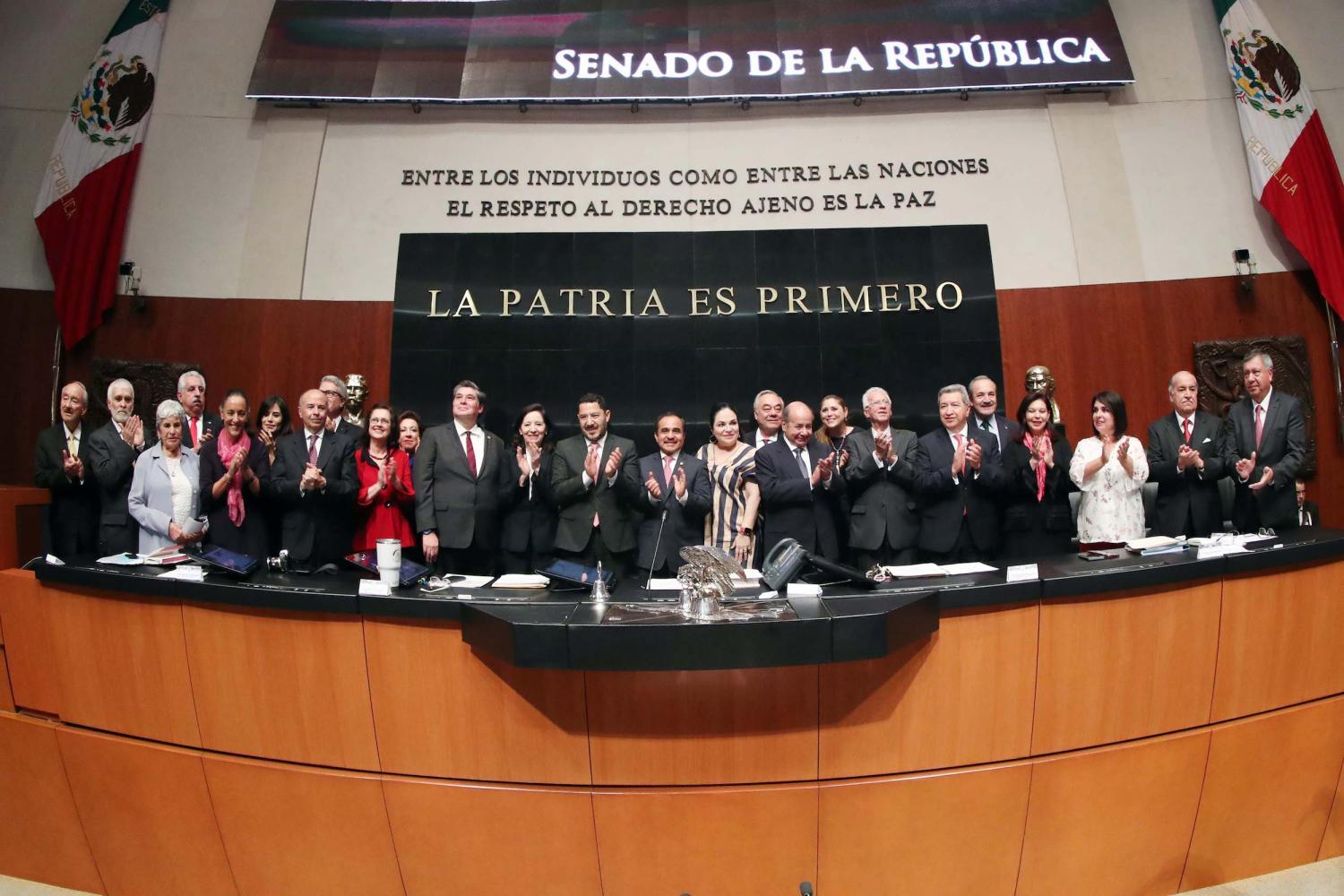 Members of the Mexican Senate