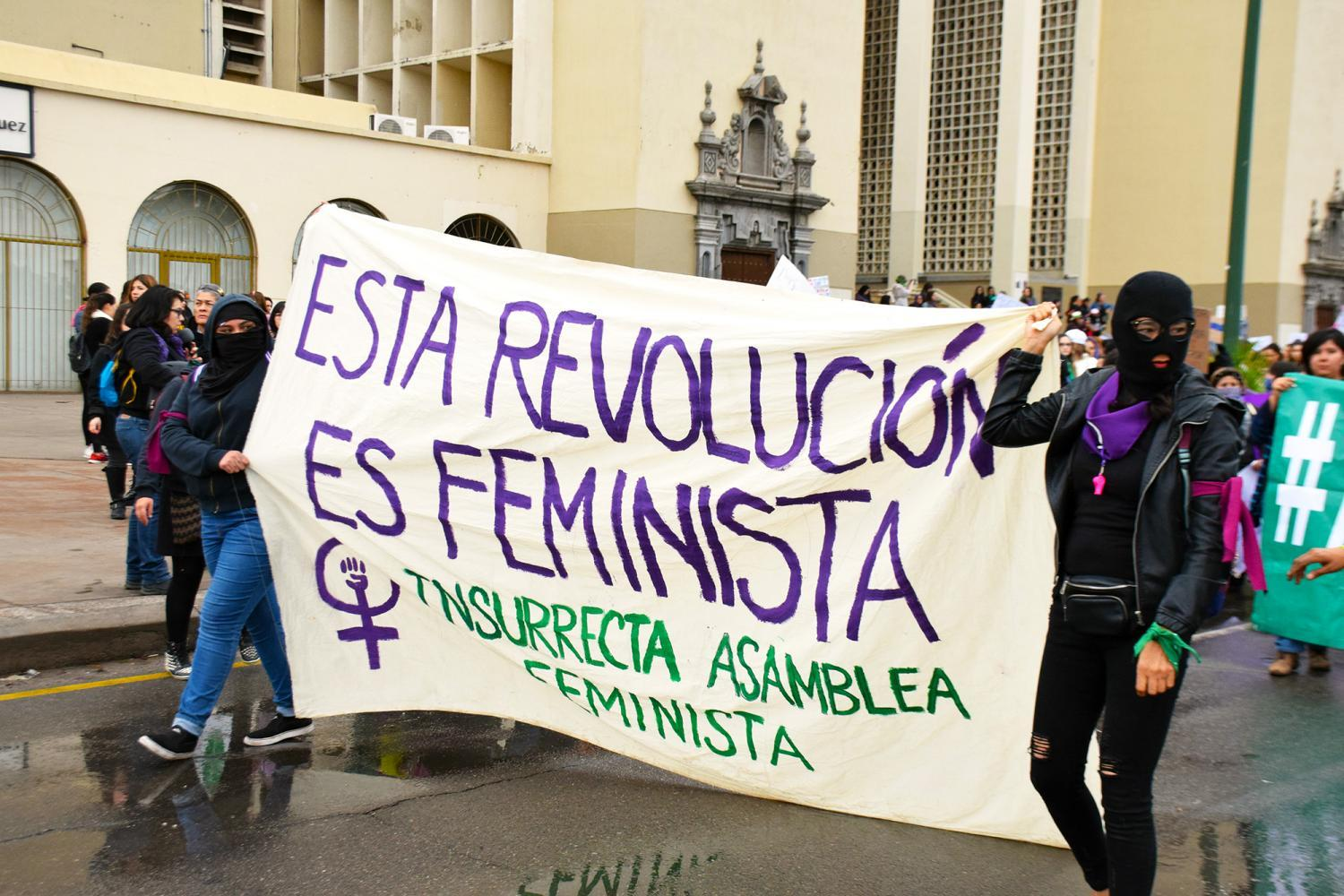 This revolution is feminist