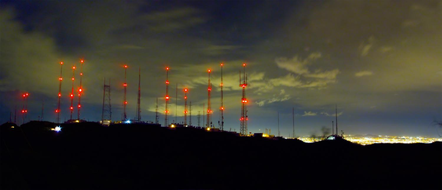 South Mountain radio towers