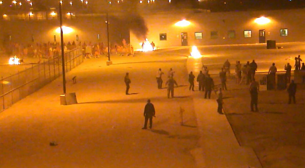 Inmates riot at the Yuma prison