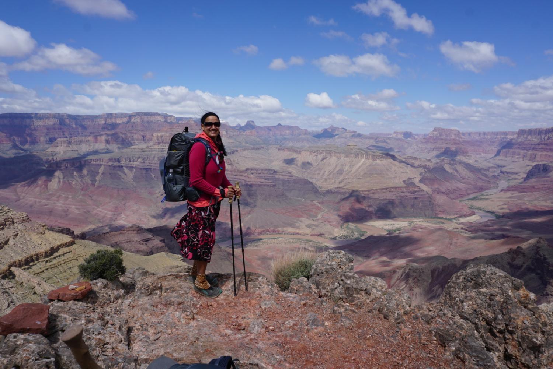 Sirena Rana Dufault At Tanner Trail, Grand Canyon