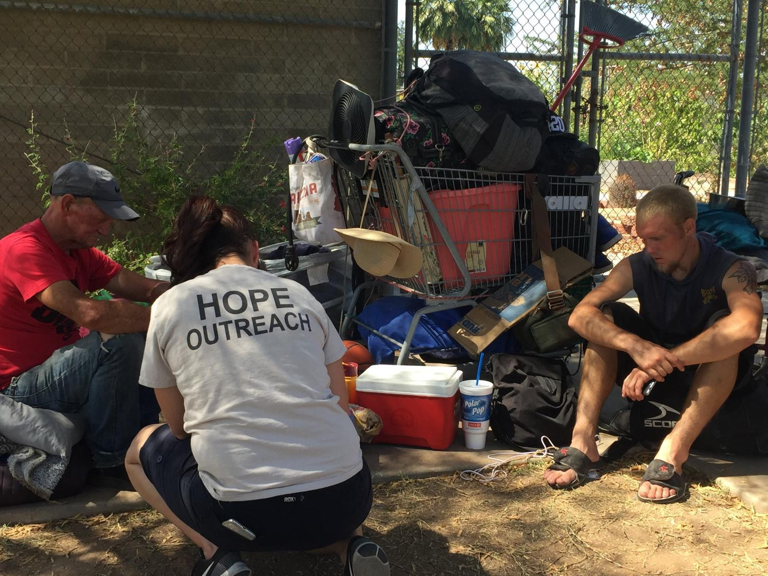 Volunteers survey during first ever Tempe summer homeless count