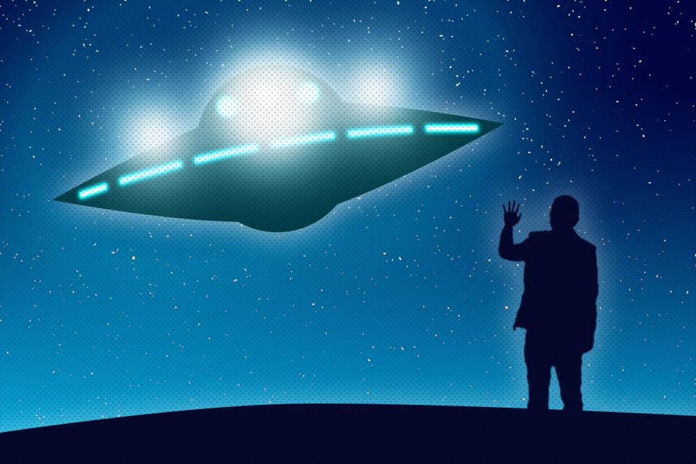 space alien UFO