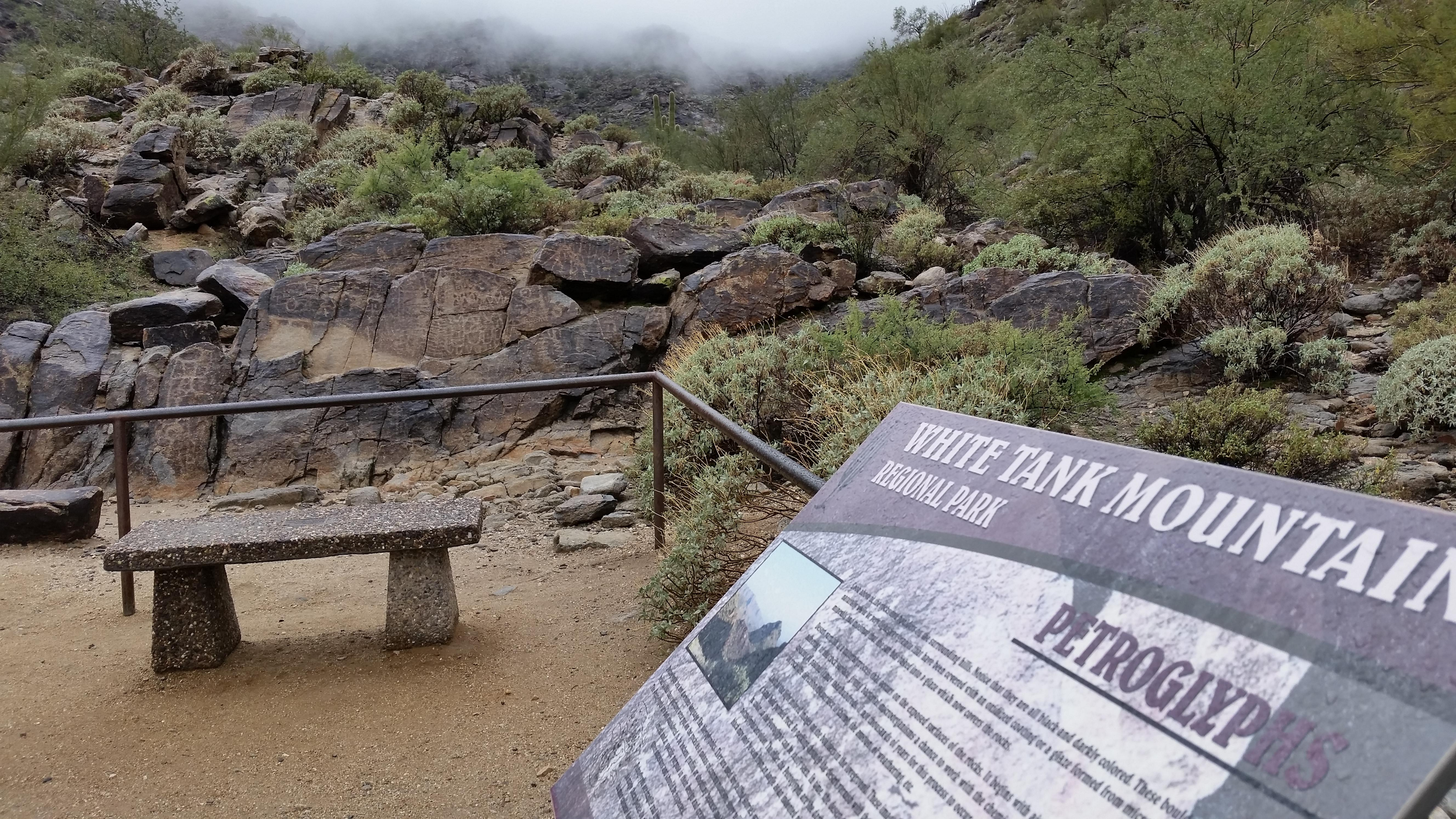 White Tank Mountain sign