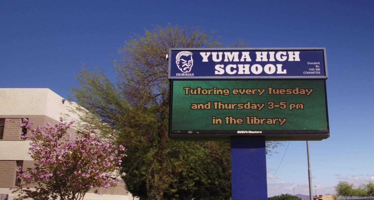 Yuma High School has a unique mascot: the criminals. Through our Q&AZ reporting project, a listener asked KJZZ to explain the story behind it.