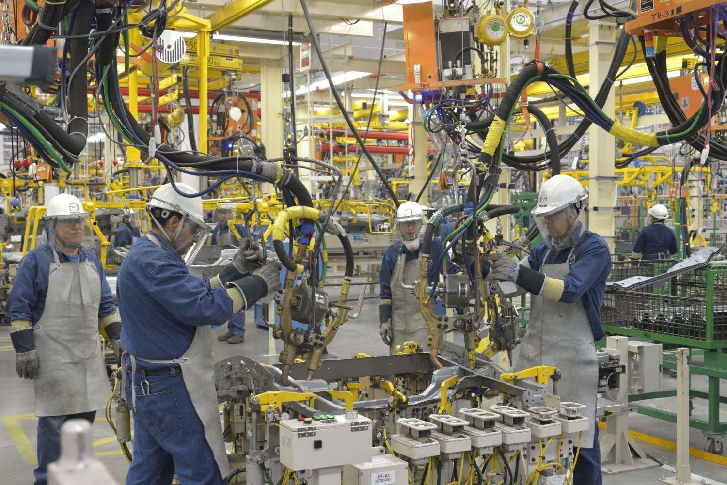 """Mazda is one of the automotive companies with a plant in the """"Bajío"""" region"""