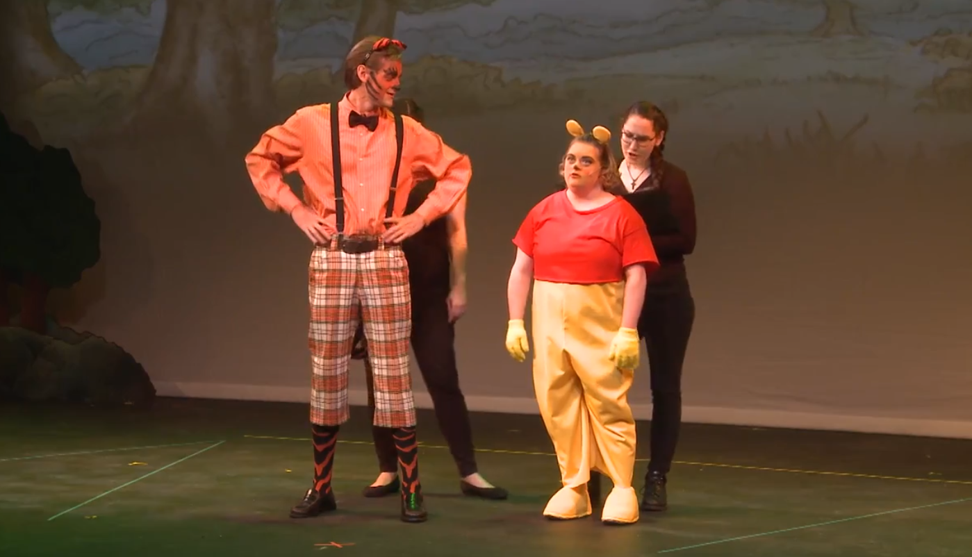 "AdaptiveWorks performed ""Winnie the Pooh"""