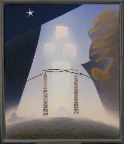 Future by Agnes Pelton.
