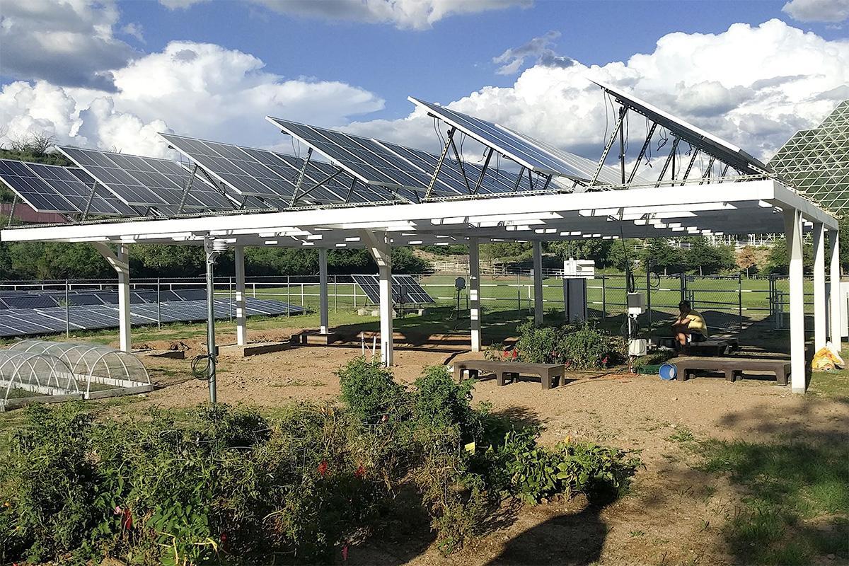 Agrivoltaics installation