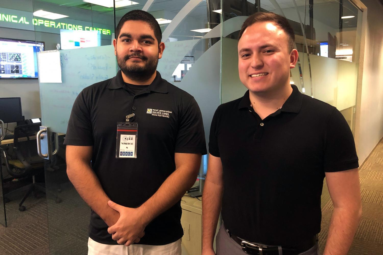 Alvaro Martinez and Christopher Frias
