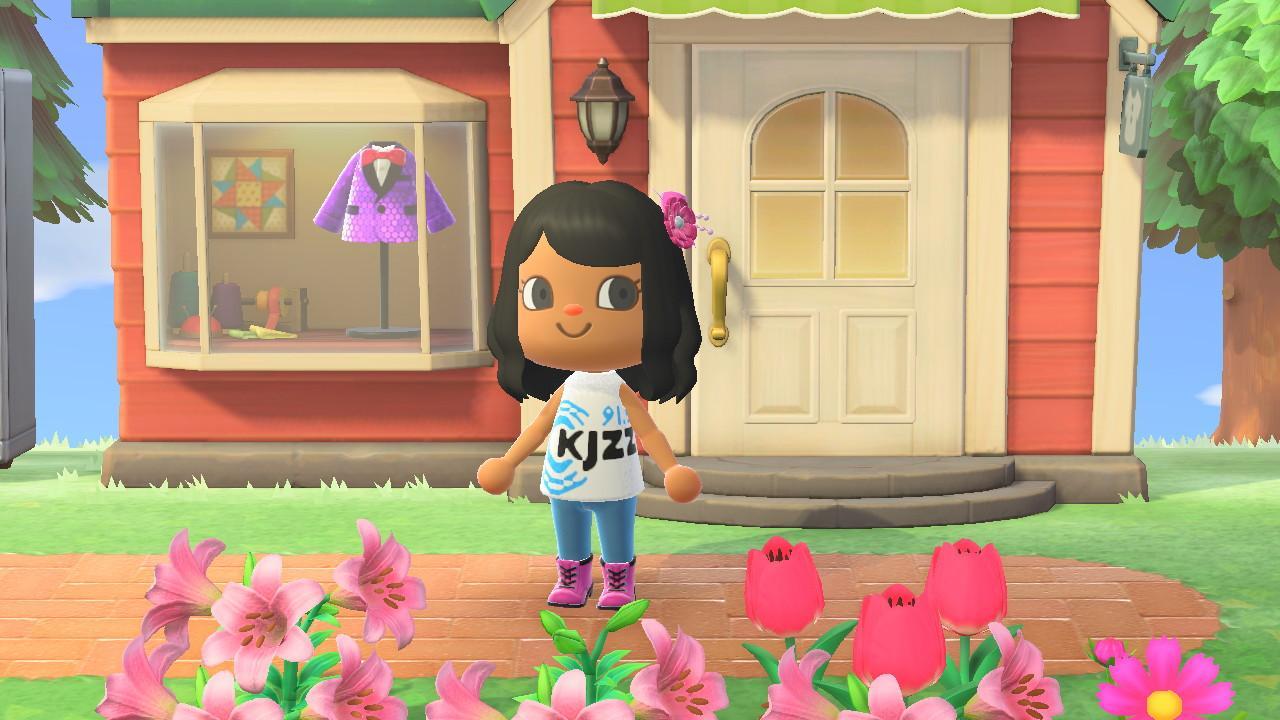 Animal Crossing KJZZ shirt